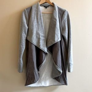 Drew sweater and suede cardigan Size M